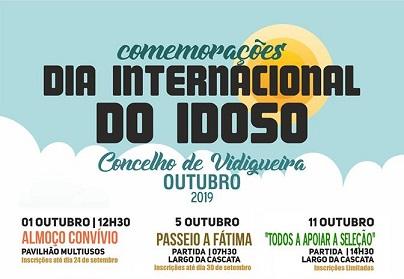 VIDIGUEIRA: DIA INTERNACIONAL DO IDOSO