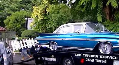 Foto Mobil di Pernikahan Vino G Bastian dan Marsha Timothy