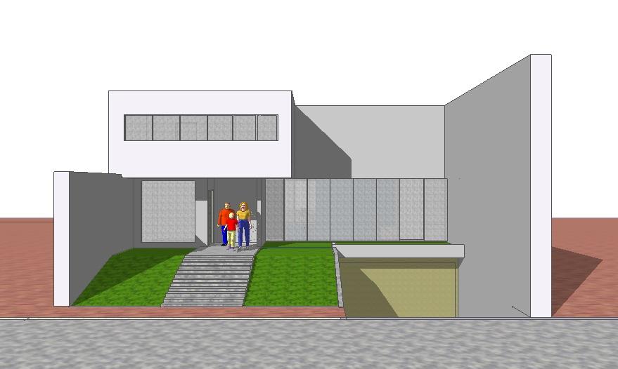 Fachadas y casas grandes dise os para fachadas de casas for Casas minimalistas modernas con cochera subterranea