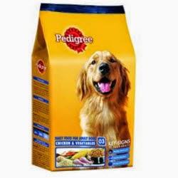 Amazon: Pedigree Adult Meat & Rice 1.2KG Rs. 179