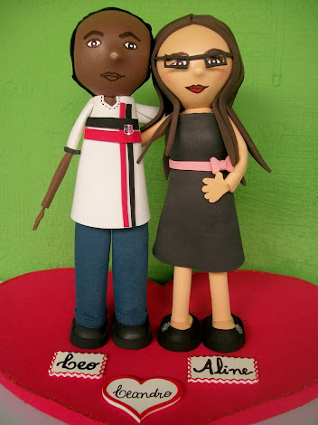 CASAL PERSONALIZADO (EM EVA)