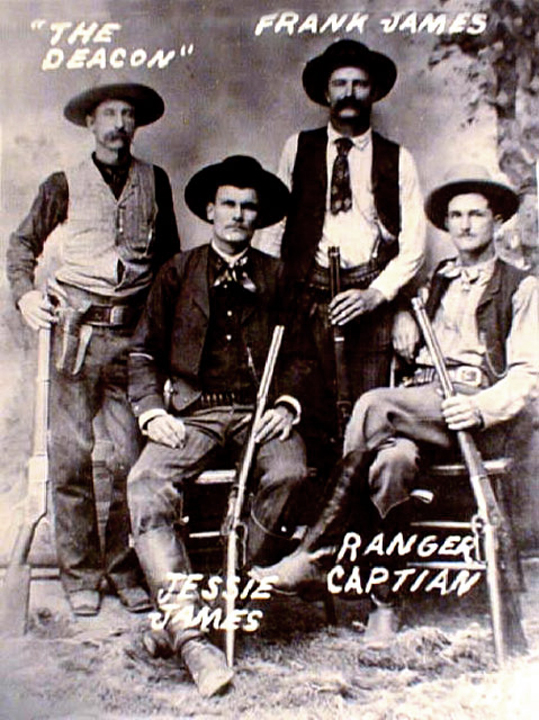 Carroll Bryant Jesse James American Outlaw