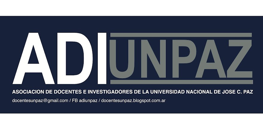 Docentes UNPAZ