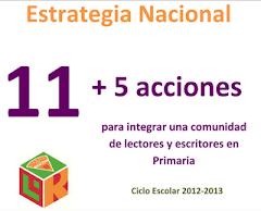 PROGRAMA NACIONAL DE LECTURA. DESCARGA AQUÍ LA ESTRATEGIA NACIONAL 11+5
