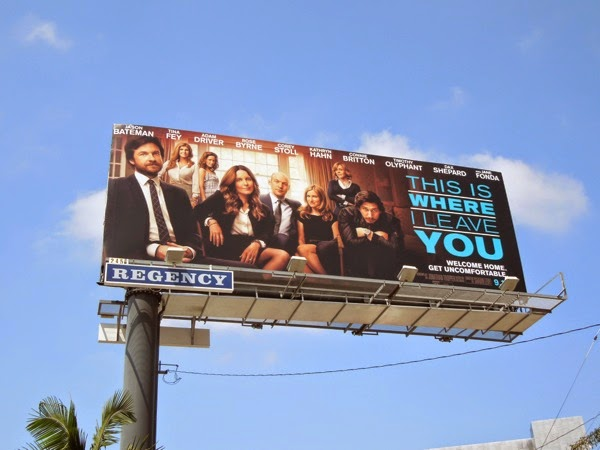 This Is Where I leave You movie billboard