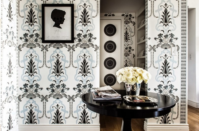 Art Nouveau Wallpaper Patterns For Inspiration