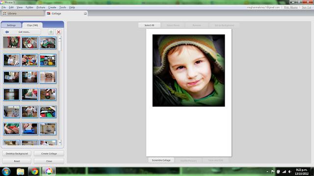 canvas photo board polaroid photos