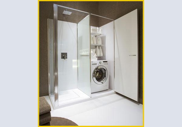 L 39 architetto risponde ambiente bagno ultime tendenze - Bagno di servizio con lavanderia ...