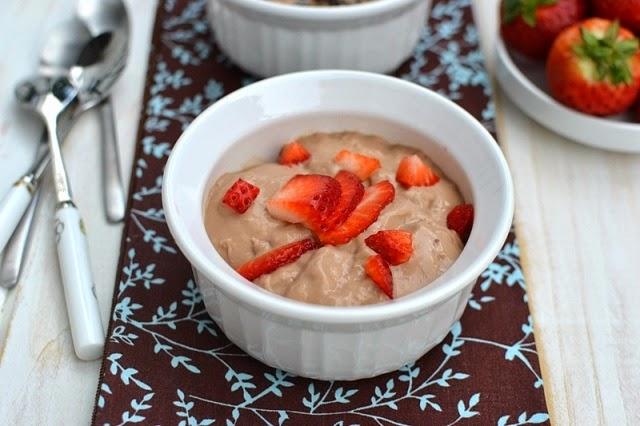 Chocolate Custard with Custard Powder