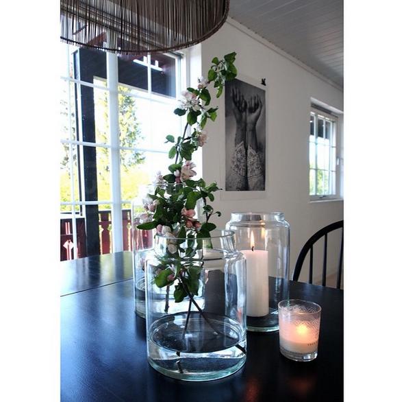 tine k home beautiful nordic homes. Black Bedroom Furniture Sets. Home Design Ideas