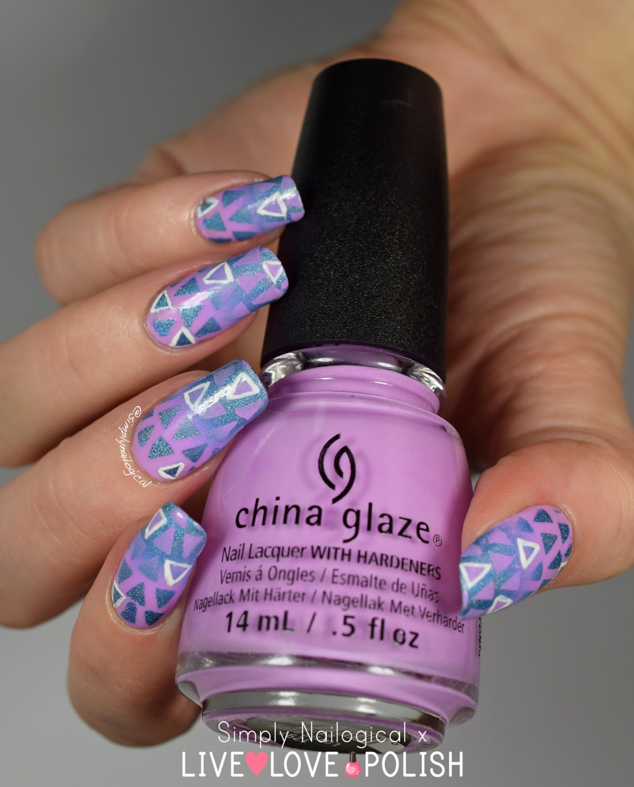 Simply Nailogical: Triangle reciprocal gradient and a new nail ...