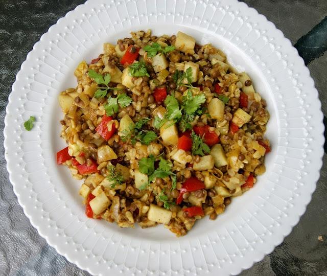 danie ejdnogarnkowe z ryżem