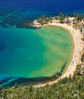 Popular paddle board race at Sand Harbor in Tahoe June 15