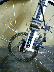 P Clamp installed on Fork