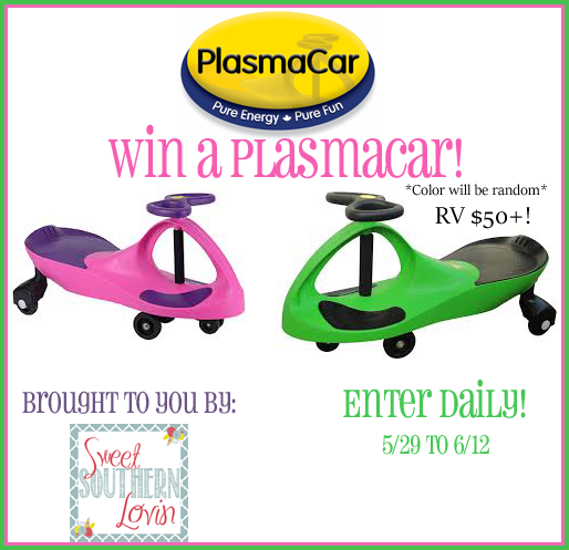 The Original PlasmaCar Giveaway