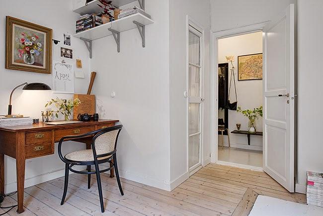 Casa di ispirazione nordica home shabby home for Arredamento scandinavo vintage
