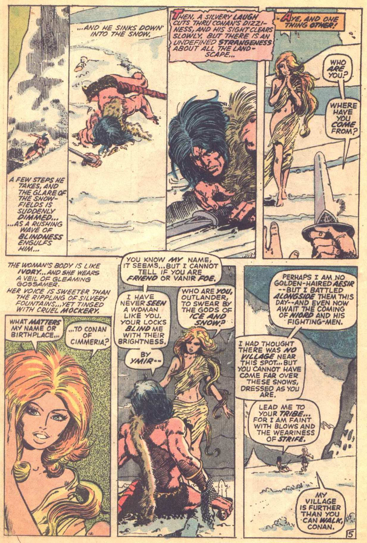 Conan the Barbarian (1970) Issue #16 #28 - English 5