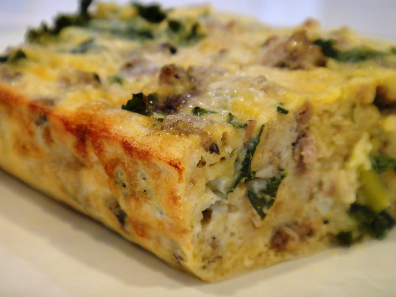 Freeze Your Way Fit: Clean Eating Sausage Egg Casserole (OAMC)