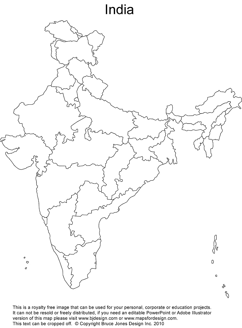 The India Map Wallposters ~ Hits All