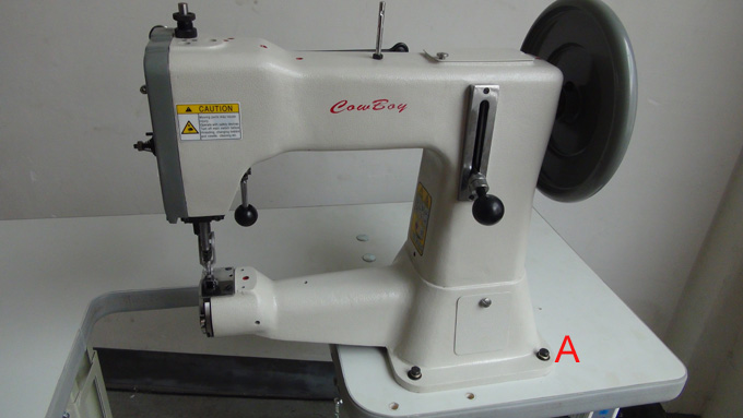 cheap leather sewing machine