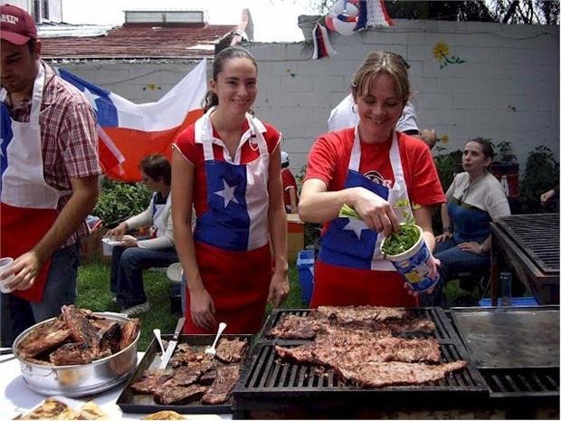 Праздник в Чили
