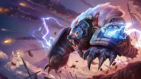 volibear runeguard league of legends lol champion hd wallpaper
