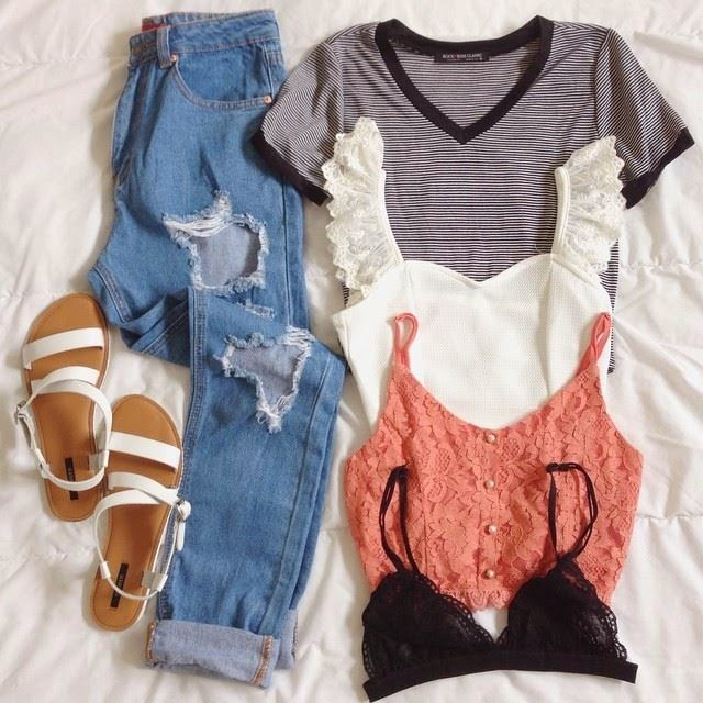 Three Amazing Outfits sets for Spring.