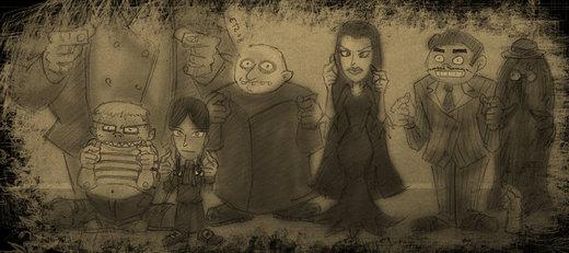 The Addams Family por theEyZmaster