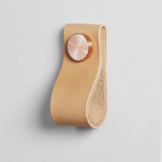 Pittoreskt superfront - Poignee de meuble en cuir ...