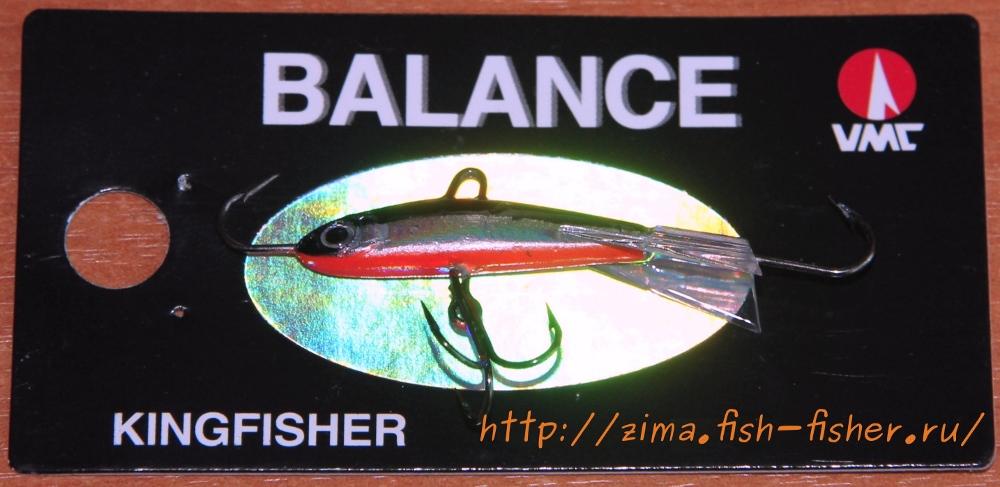 Зимний балансир для ловли окуня