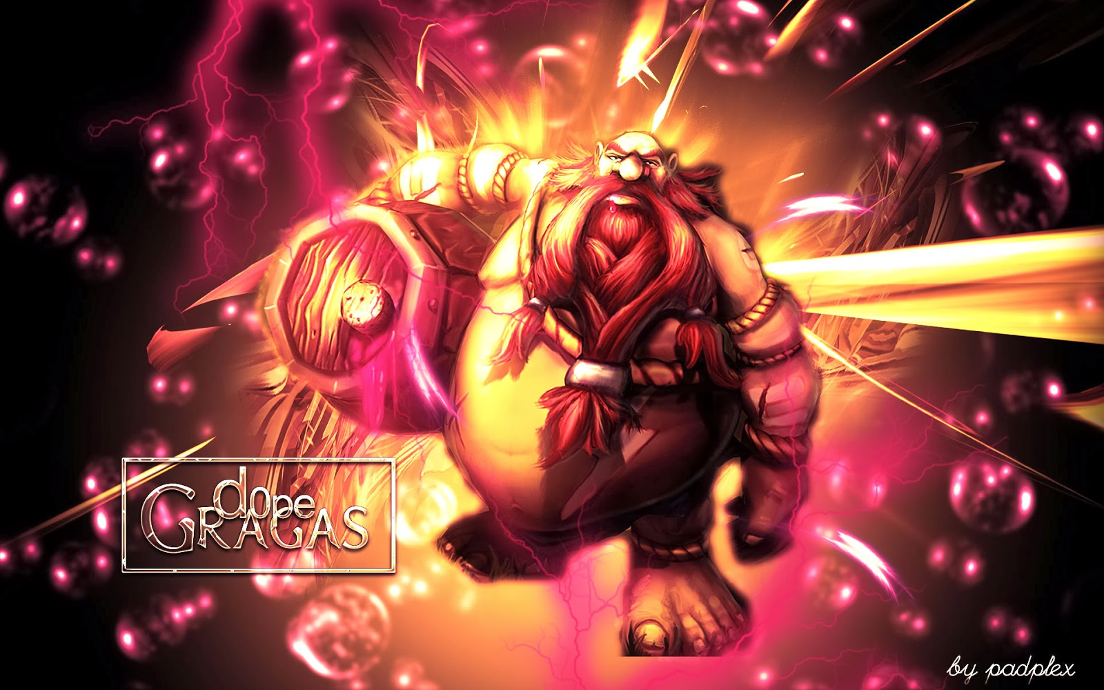 Gragas League of Legends Wallpaper