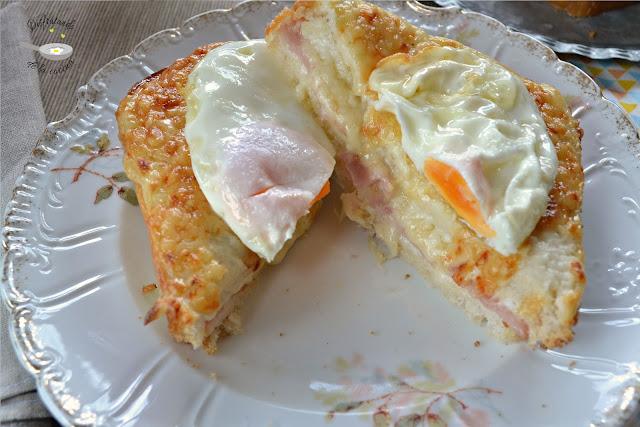 Sandwich croque madame