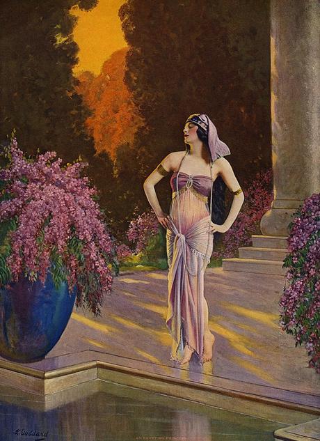 L.Goddard illustrtion egypt