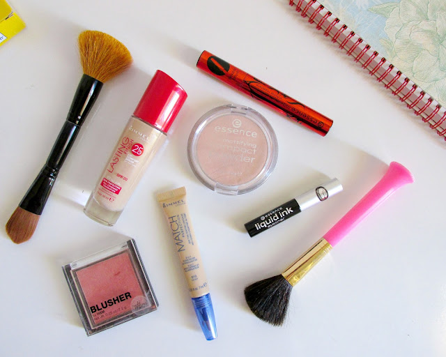 makeup, school makeup, routine