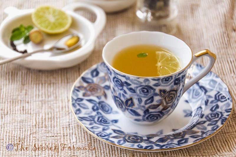 Image result for basil ginger tea