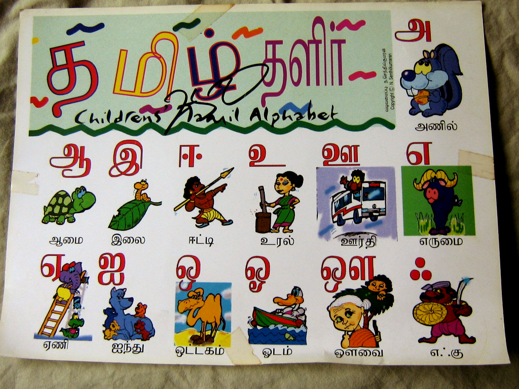 Search Results for Tamil Letters