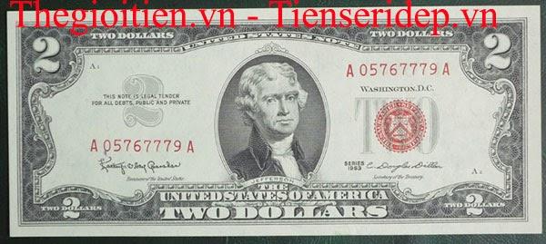 tiền seri đỏ, mộc đỏ lì xì tết 2014