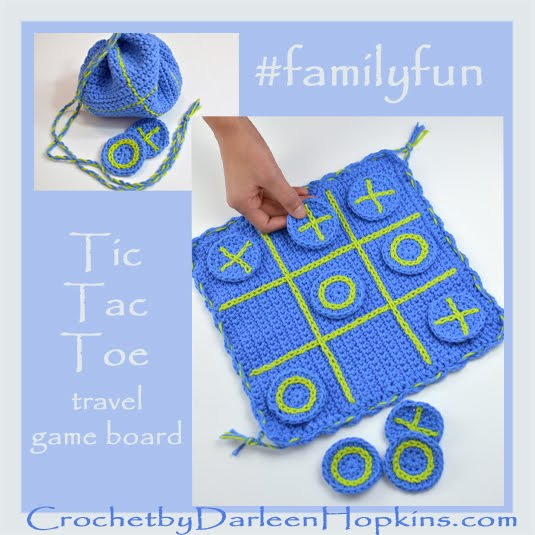 #familyfun Travel Tic-Tac-Toe Game