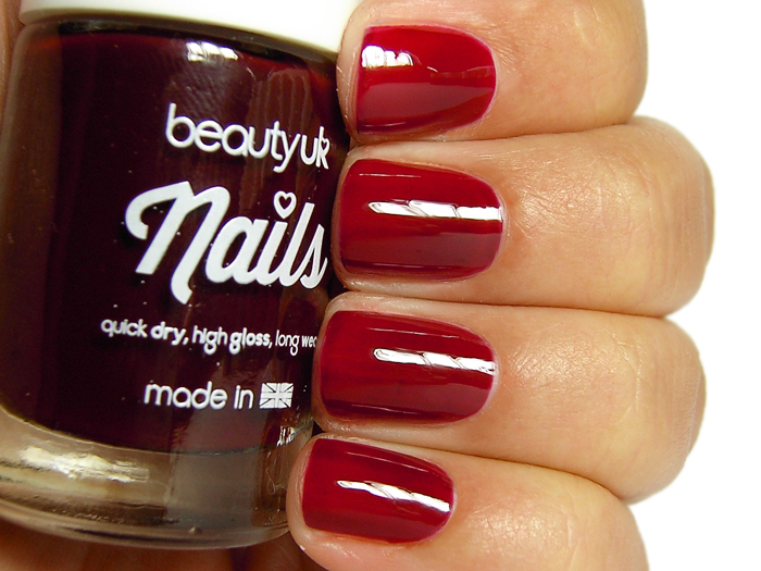 Beauty UK Nails - Rouge Rendezvous