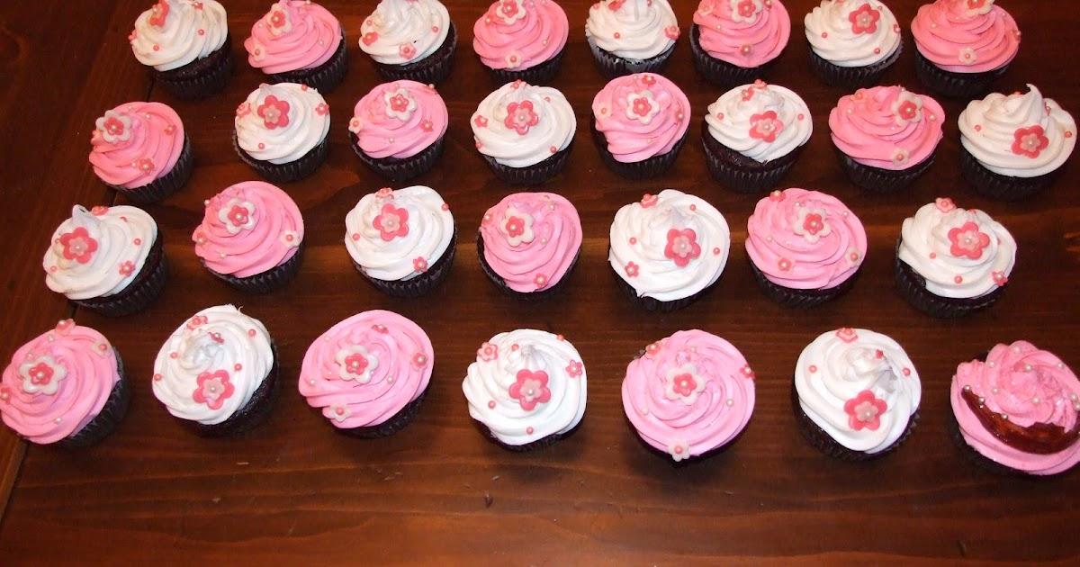 Aux Papilles Sucrées: Cupcakes girly