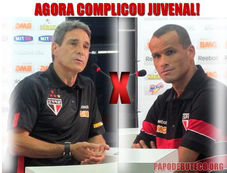 Fora Carpegiani, Rivaldo, Confronto entre Rivaldo e Carpegiani, Polêmica no São Paulo