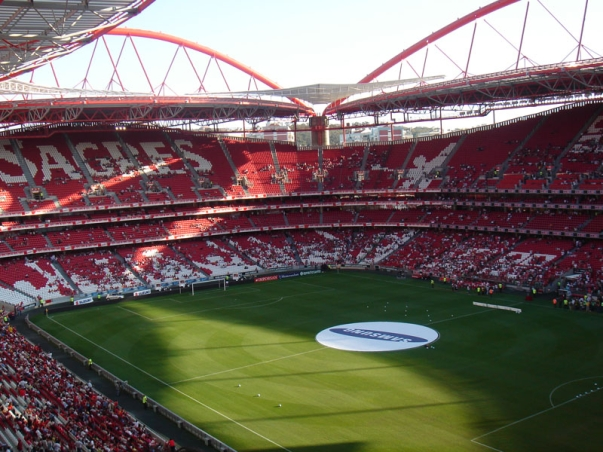 Fora de jogo final da ta a do rei no est dio da luz a for Piso 0 estadio da luz