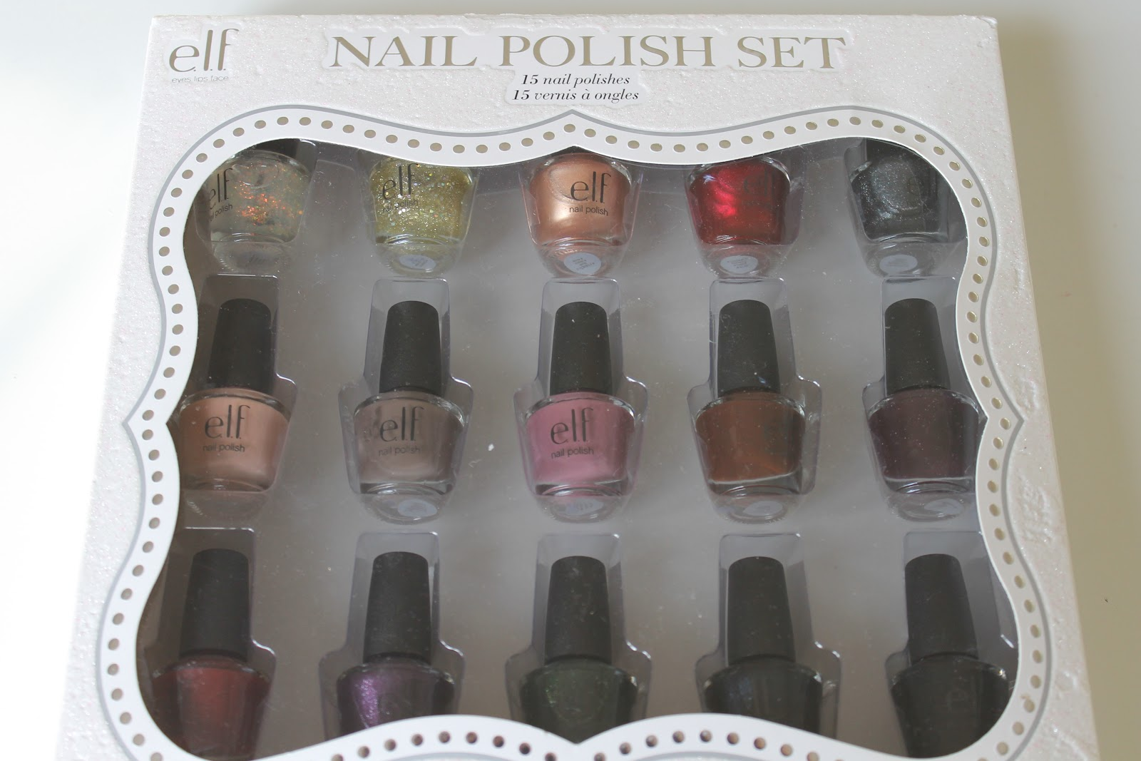 Love on a Shoestring: ELF Nail Polish Gift Set