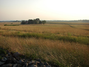Cemetery Ridge at Gettysburg