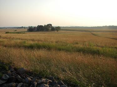 Cemetery Ridge at Gettysburg