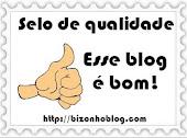 Selo de Qualidade: Esse blog é bom!