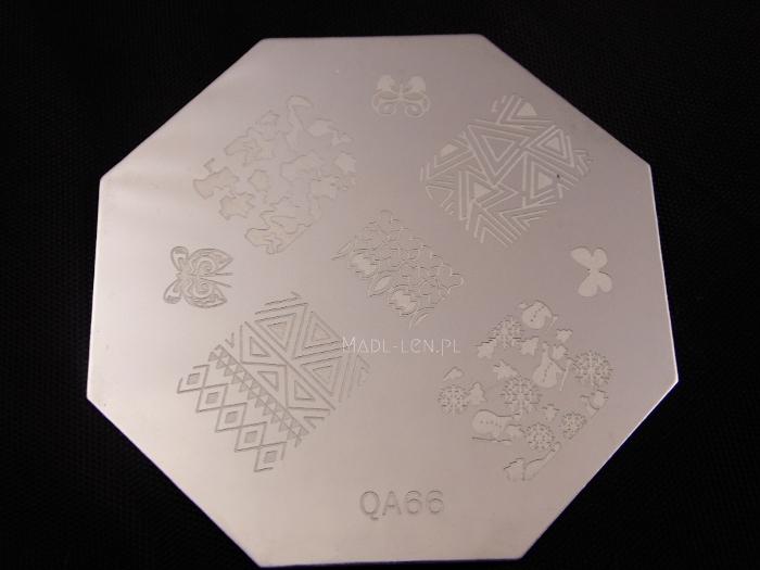 plate QA66, płytka zimowa