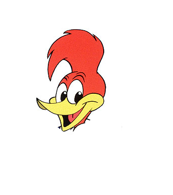 Woody the woodpecker face - photo#3
