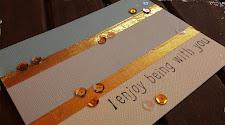 Tarjeta foil metalizado: sin laminadora