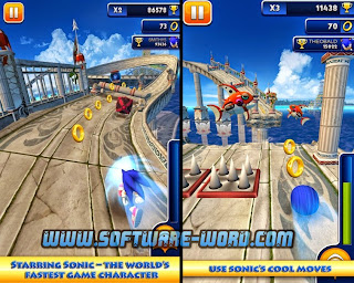 Sonic Dash 1.12.0 APK Download for Android Unlimited Money - Screenshot